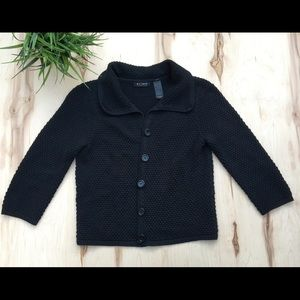 Liz Claiborne button up sweater knit